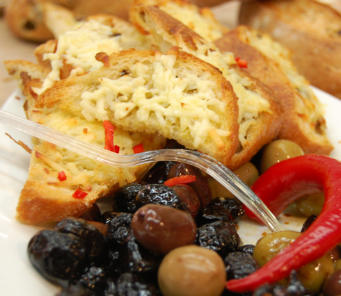Antipasti Grilled Cheese Recipe — Dishmaps