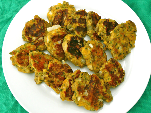 Eggplant croquettes