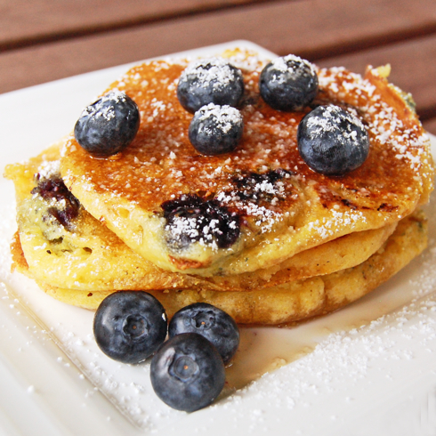 ... September – Blueberry cornmeal pancakes | eat. live. travel. write