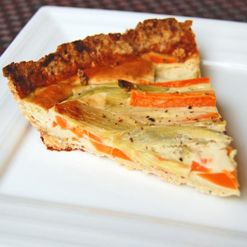Dorie Greenspan mustard tart on eatlivetravelwrite.com