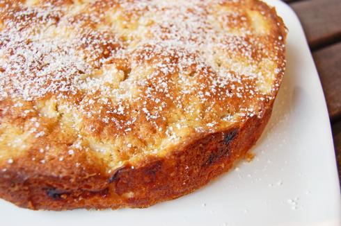 Dorie Greenspan apple cake on eatlivetravelwrite.com