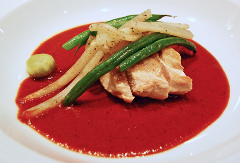 Chicken In Oaxaca Yellow Mole With Green Beans And Chayote (or ...