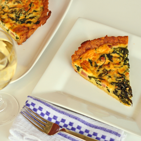 Dorie Greenspan quiche