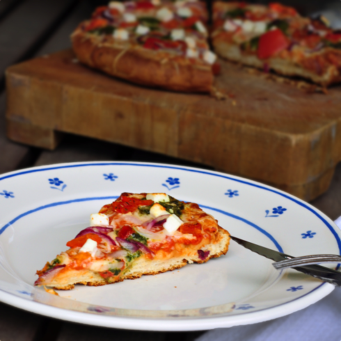Dr Oetker panbello pizza slice