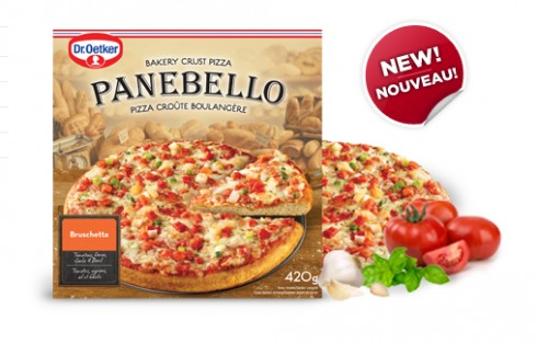 Dr Oetker panbello bruschetta pizza