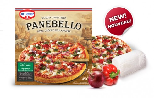 Dr oetker vegetable panbello pizza