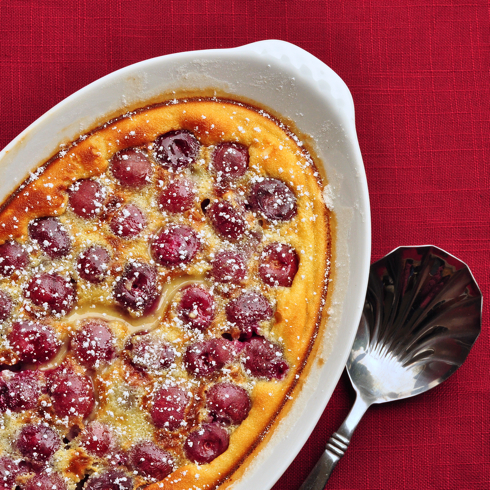 Stephane Reynaud cherry clafoutis eatlivetravelwrite.com