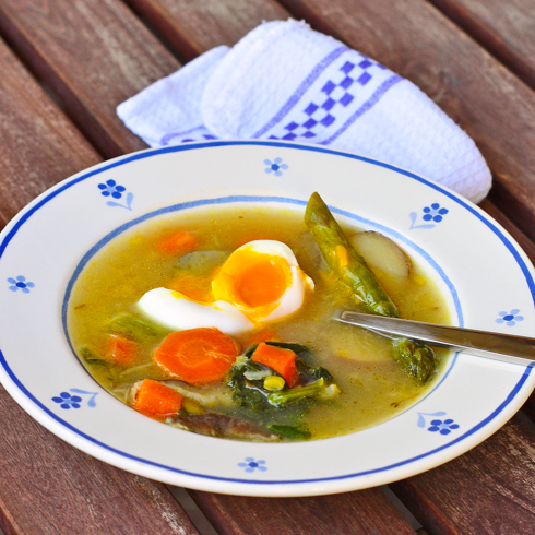 Dorie Greenspan's warm weather pot au feu