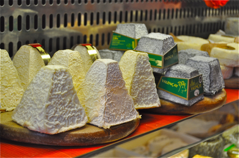 goat cheese on the rue des Martyrs on eatlivetravelwrite.com