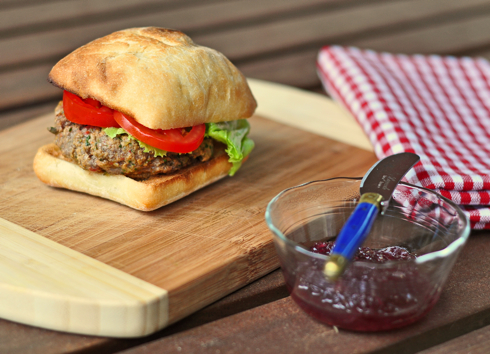 Dorie Greenspan's Café Salle Pleyel burger