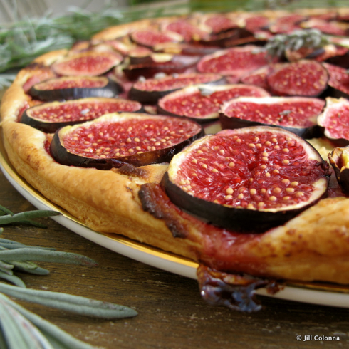 Jill Colonna's fig tart