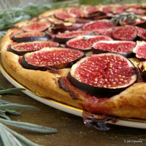 Jill Colonna's fig tart recipe