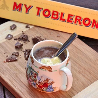 Toblerone hot chocolate recipe