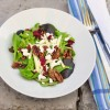 Composed Salad of Greens, Goat Cheese, and Caramelized Pecans Jacques Pepin recipe
