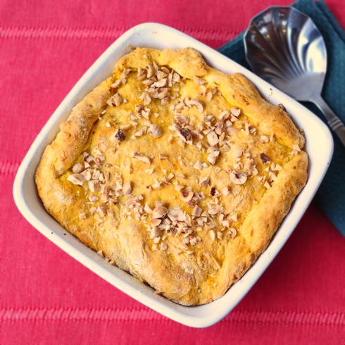 Melaney Gleeson-Lyall hazelnut bannock pie