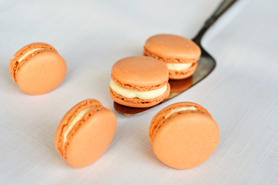 Pumpkin pie macarons recipe