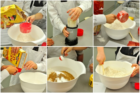 Les petits chefs make pancakes with the headmaster eat live pancake mix after ccuart Images
