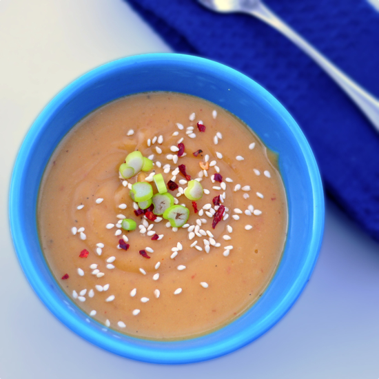 Coconut chili butternut squash soup recipe