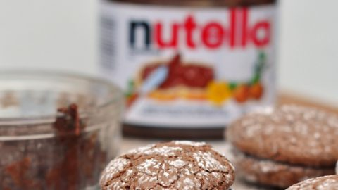 World Nutella Day 2012 macarons craqueles noisette chocolat