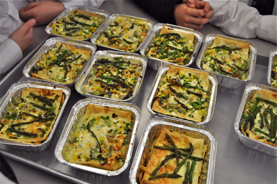 Les petits chefs make jamie olivers summer veggies lasagna eat im providing the recipe forumfinder Gallery