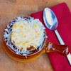 Cheese topped onion soup Dorie Greenspan
