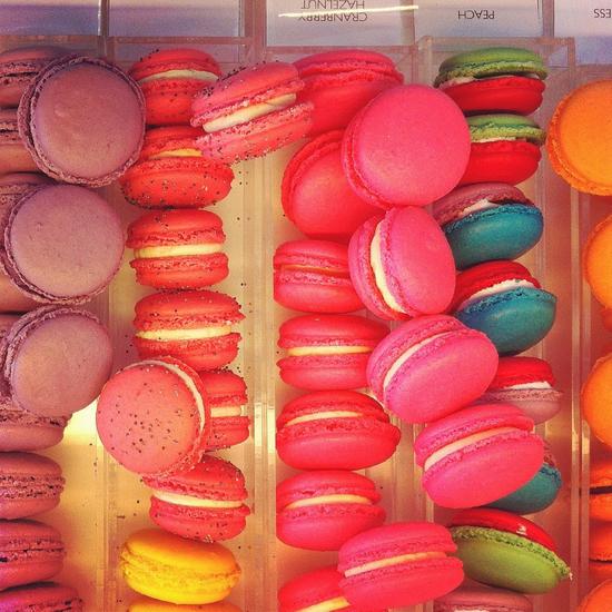 Macarons at Nadege in Toronto