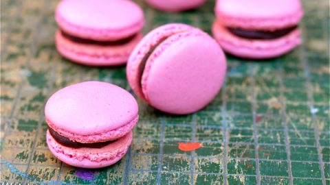 Basic macaron recipe (French meringue)