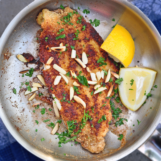 French Fridays with Dorie: Almond flounder meunière | eat ...