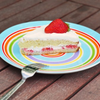 Tuesdays with Dorie: French Strawberry Cake