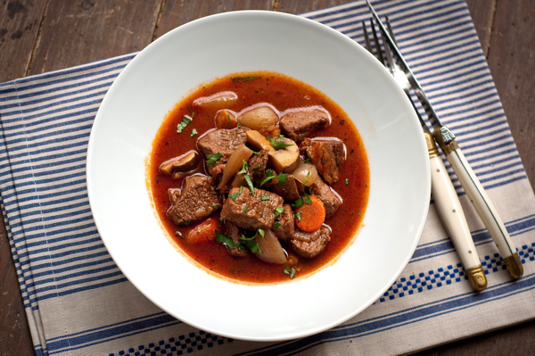 of Julia Child's beef bourguignon on Epicurious. And as Julia ...