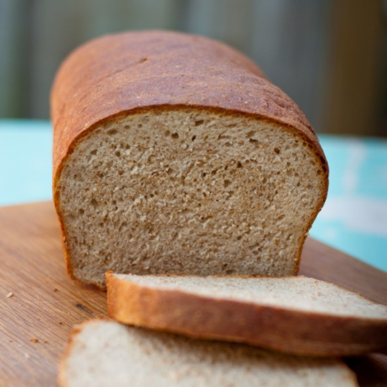 Tuesdays with Dorie Baking with Julia whole wheat loaf