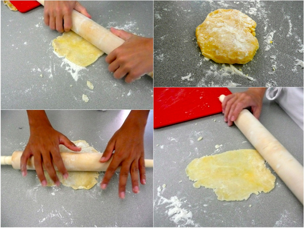 Making pastry with kids2