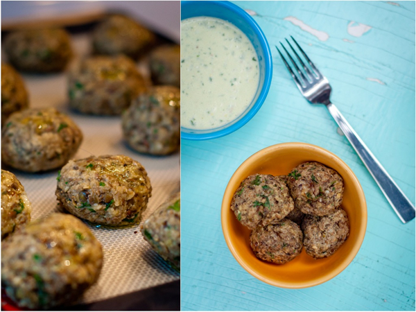 "Lentil ""Meatballs"" In Lemon Pesto Recipes — Dishmaps"
