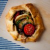 mini mushroom galette with tomatoes blue cheese and walnuts mushrooms canada GO PINK official recipe 2012
