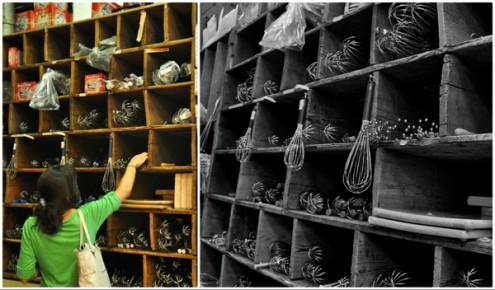 Choosing whisks in Dehillerin Paris on eatlivetravelwrite.com