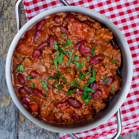 Best Chili Con Carne Recipe Eat Live Travel Write