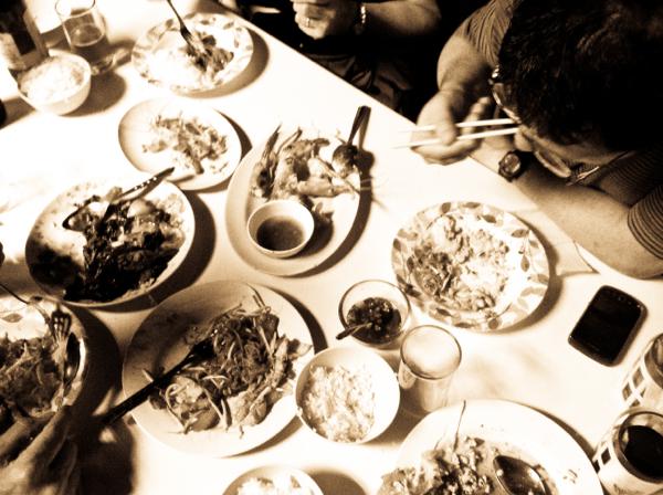Dining at Jok Phochana in Bangkok