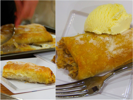 Apple-strudel-with-Vanilla-ice-cream-Culturelicious