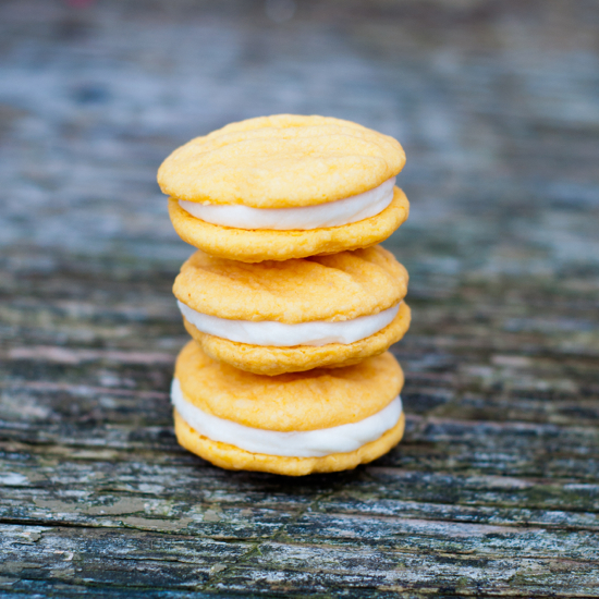 lemon melting moment cookies