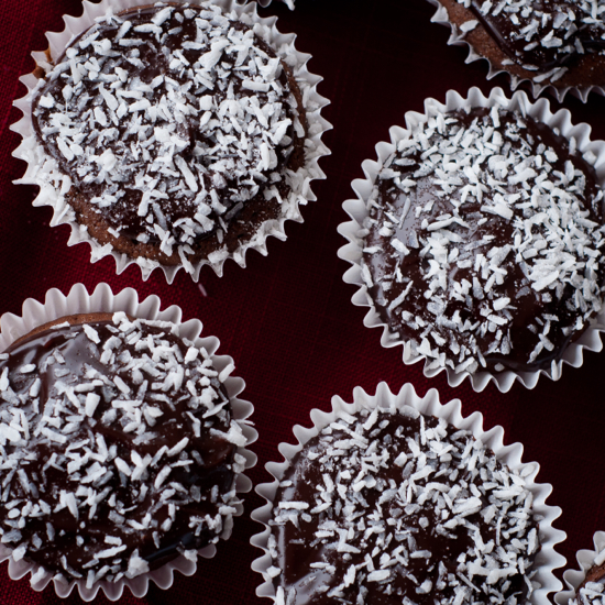 Chocolate cupcakes with coconut flour gluten free