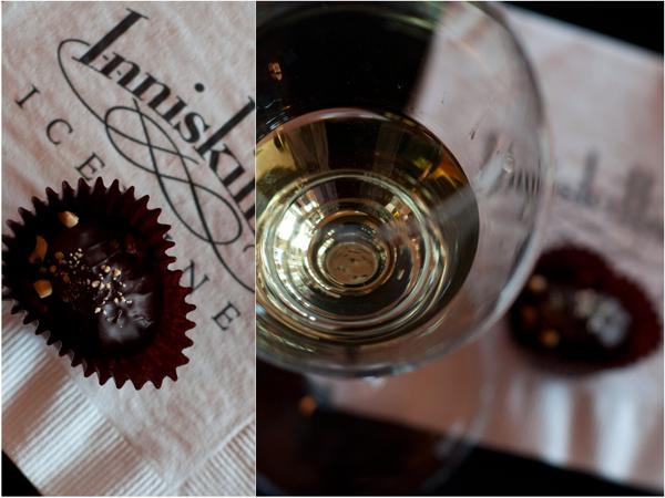 INNISKILLIN WINEs 2008 Vidal Icewine Chocolate Peanut Butter Balls
