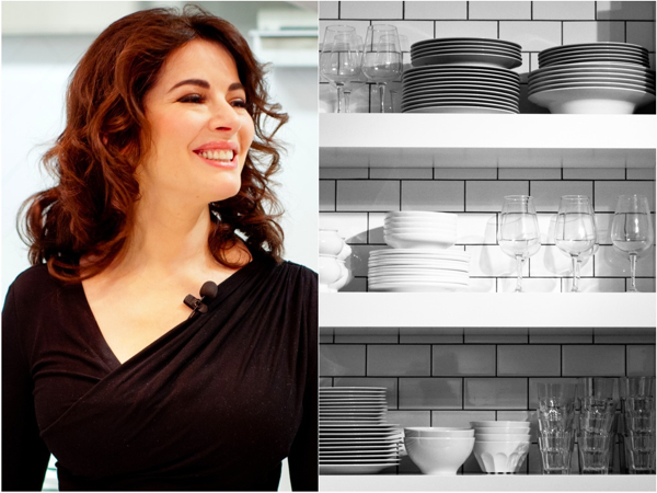 In the Chatelaine kitchens with Nigella