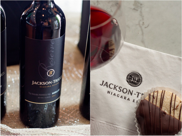 jaCKSON-TRIGGS NIAGARA ESTATE WINERY 2010 Reserve Series Merlot Mixed Dried Fruit and Anise Cookie