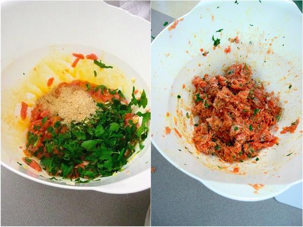 Making Nigellas meatzzas