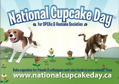National Cupcake Day poster on eatlivetravelwrite.com
