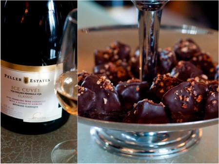 Peller Estates Winery Andrew Peller Signature Series Ice Cuvée Candied Bacon and Chocolate Sponge Toffee
