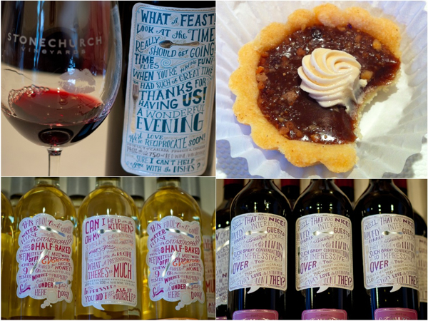 Small talk Vineyards 2010 Cabernet Sauvignon Merlot Milk Chocolate Hazelnut Tarts