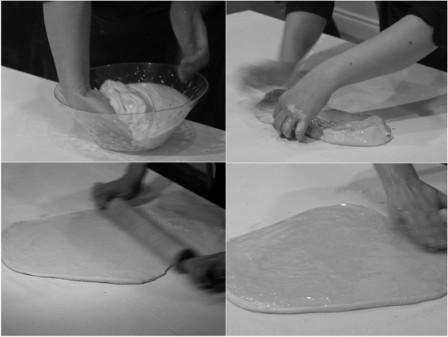 Strudel dough at Culturelicious