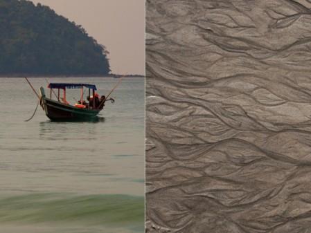 Water and sand Ngapali beach