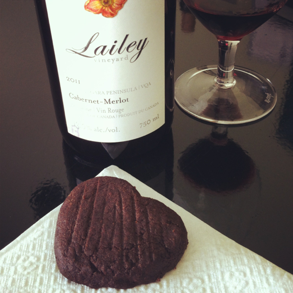 LAILEY VINEYARD 2011 Cabernet Merlo tChocolate Espresso cookie